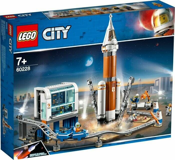 LEGO City Space Port 60228 Deep Space Rocket and Launch Control Mars Expedition