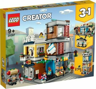 LEGO Creator 31097 Townhouse Pet Shop & Café Speed Build