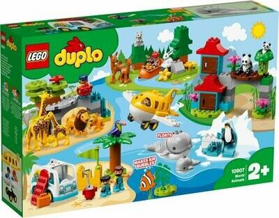 LEGO DUPLO Town 10907 World Animals