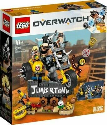 LEGO Overwatch 75977 - Junkrat ja Roadhog