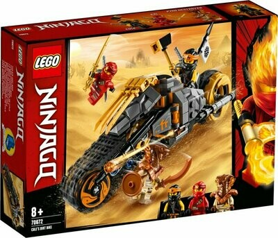 LEGO Ninjago 70672 Cole's Dirt Bike
