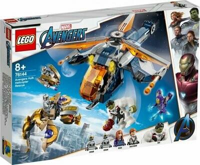 LEGO Super Heroes 76144 - Avengers Hulk helikopter Rescue