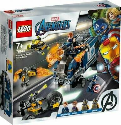 LEGO Super Heroes 76143  Avengers Truck Take-down