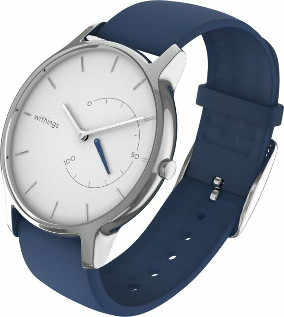 Withings Move Timeless Chic nutikell, sinine, 550063