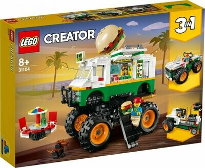 LEGO Creator 31104 Burger Monster Truck
