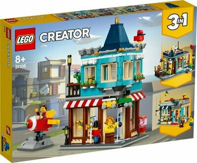 LEGO Creator 31105 3-In-1 Townhouse Toy Store
