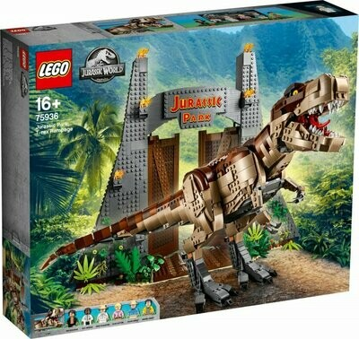 LEGO Jurassic World 75936 - Jurassic Park: T. rex Rampage