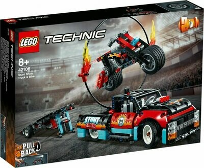 LEGO Technic 42106 - Stunt Show Truck and Bike