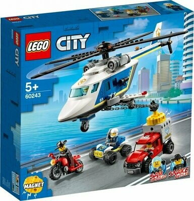 LEGO City Police 60243 Helicopter Chase