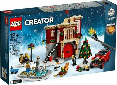 LEGO Creator Expert 10263 - Winter Village Fire Station