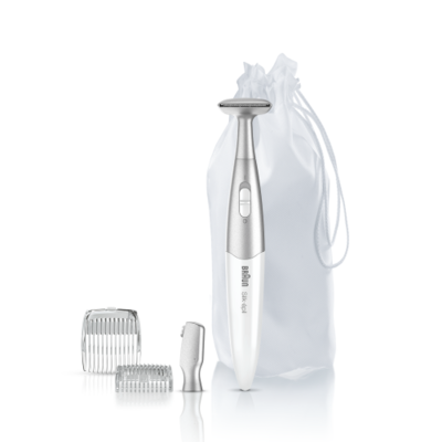Braun FG1100 bikiinitrimmer/kosmeetiline pardel, valge