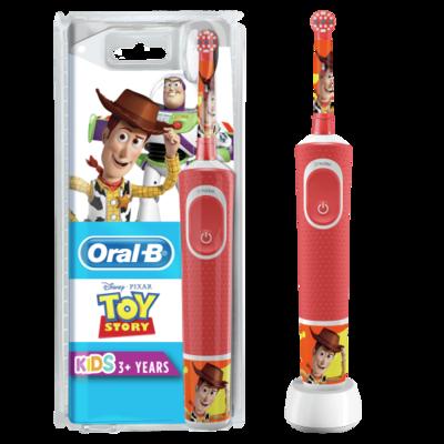 Braun D100.413.2K Kids Toy Story el.hambahari lastele taimeriga +reisikarp