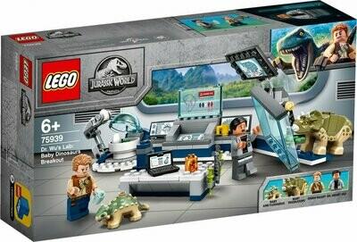 LEGO Jurassic World 75939 - Dr. Wu's Lab: Baby Dinosaurs Breakout
