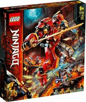 LEGO Ninjago 71720 - Fire Stone Mech