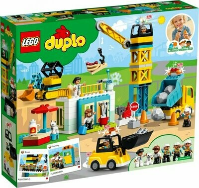 LEGO DUPLO Town 10933 - Tower Crane & Construction