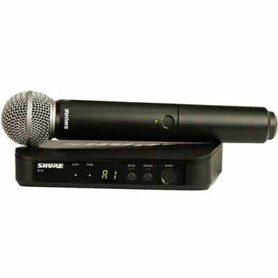 Shure BLX24E/SM58 juhtmevaba mikrofonisüsteem, K3E