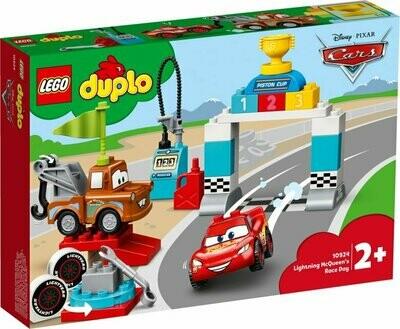 LEGO DUPLO Cars 10924 Lightning McQueen's Race Day