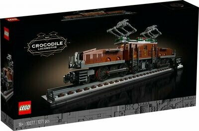 LEGO Creator Expert 10277 - Crocodile locomotive