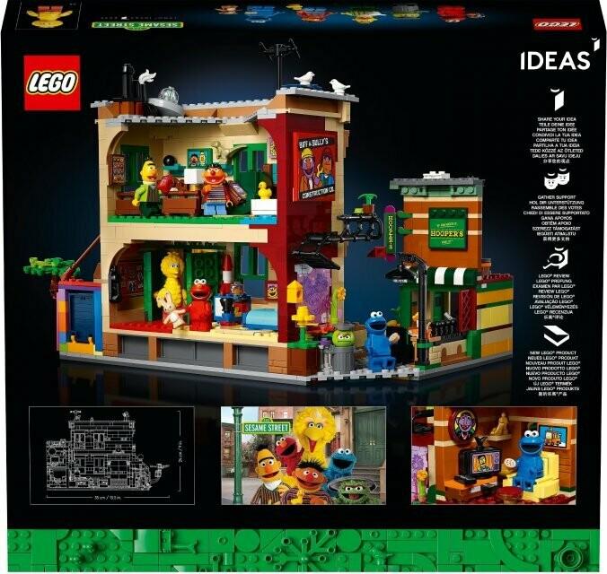 LEGO Ideas 21324 - 123 Sesame Street
