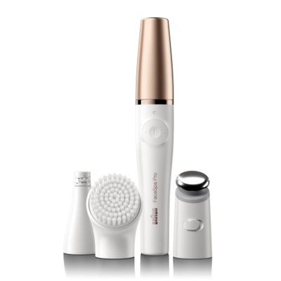 Braun 911 FaceSpa Pro näohoolduse komplekt / näoepilaator-puhastushari-toniseerija