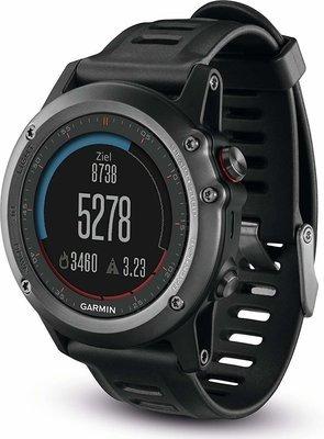 Garmin fenix 3 GPS- spordikell, hall, 010-N1338-01