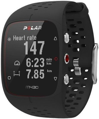 Polar M430 GPS- spordikell, M/L, must, 90066337