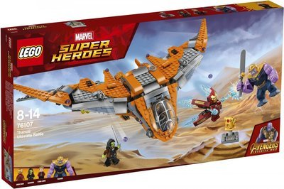 LEGO Super Heroes 76107 Marvel Avengers Movie Thanos: Ultimate Battle