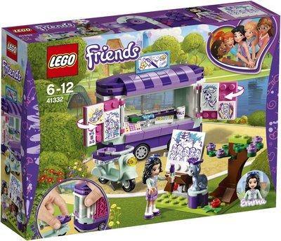 LEGO Friends 41332 Emma's Art Stand