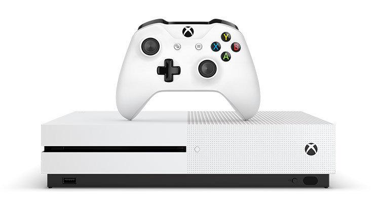Mängukonsool Microsoft Xbox One S 1TB incl. Battlefield V USK 18, 234-00687