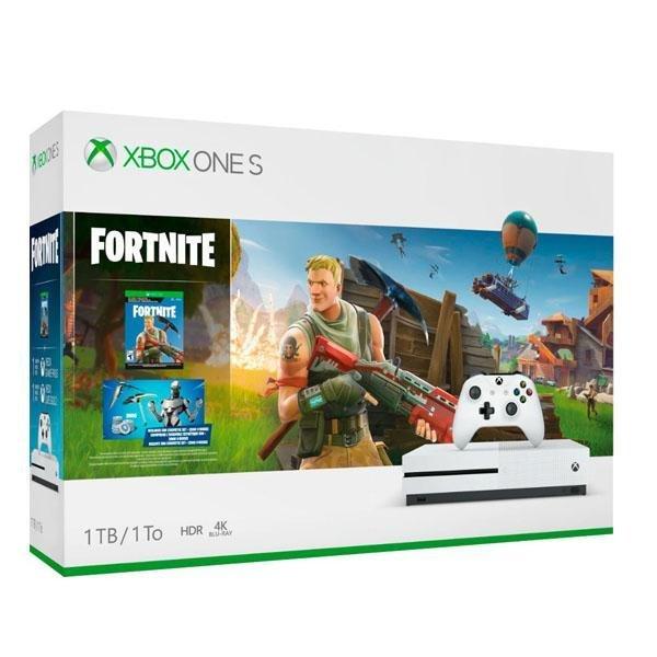 Mängukonsool Microsoft Xbox One S 1TB incl. Fortnite