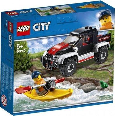 LEGO City Great Vehicles 60240 Kayak Adventure