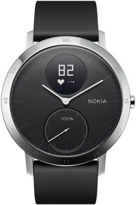 Nokia by Withings Steel HR - nutikell, 40 mm, HWA03-40black-All-Inter