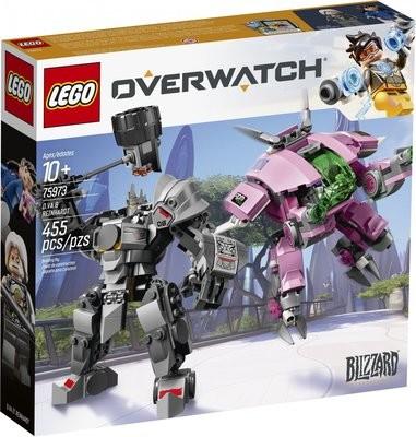 LEGO Overwatch 75973 - D.Va ja Reinhardt