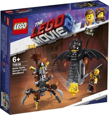 LEGO Movie 2 70836 Battle-Ready Batman and MetalBeard