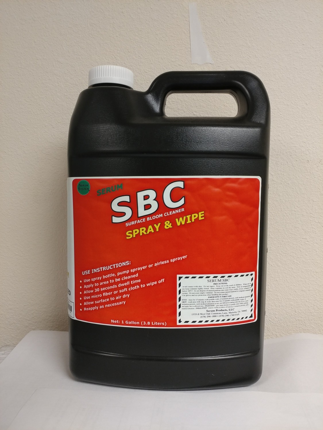 Serum SBC (Surface Mold Cleaner) Spray & Wipe, Gl