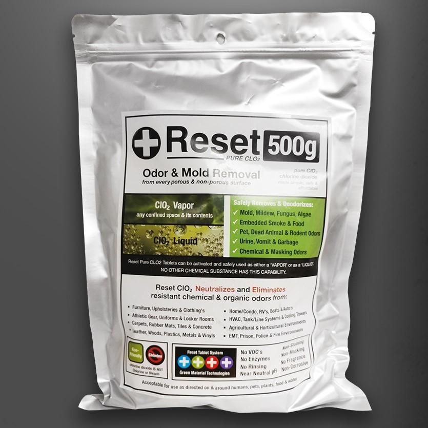 Chlorine Dioxide CLO2 500G Kit