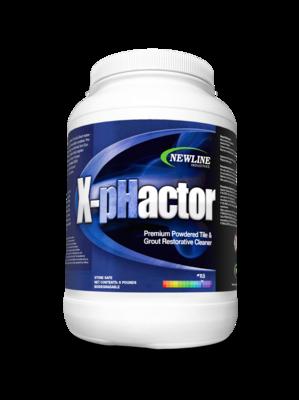 X-Phactor | Premium Powdered Alkaline Tile & Grout Cleaner