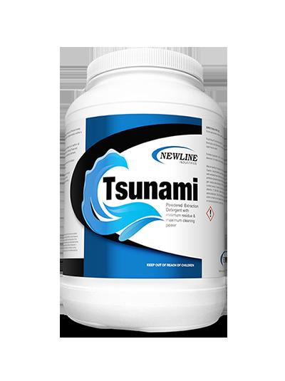 Tsunami: Powdered Extraction Detergent