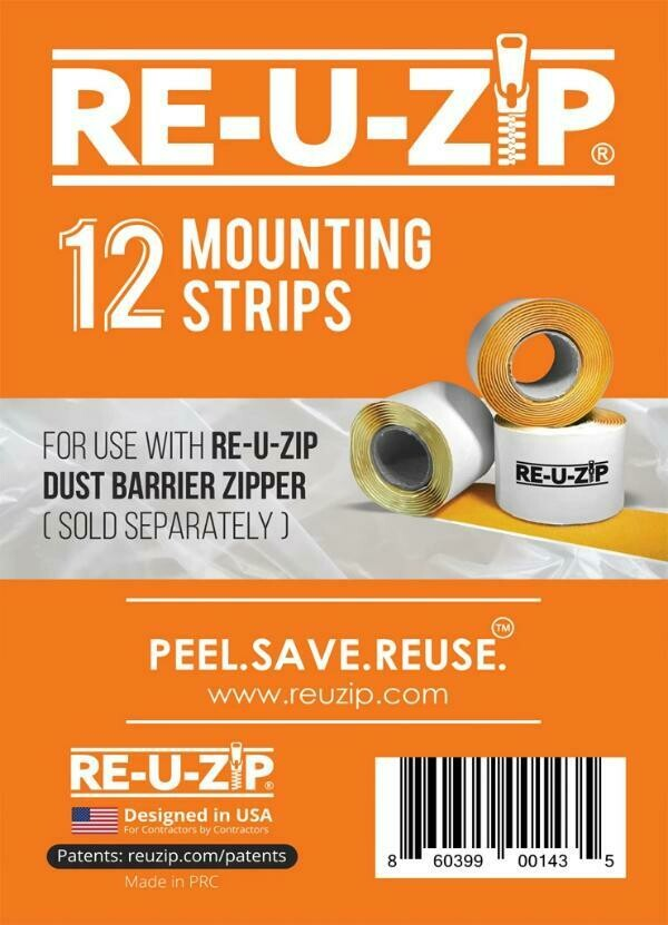 12 Pack - Mounting Strips