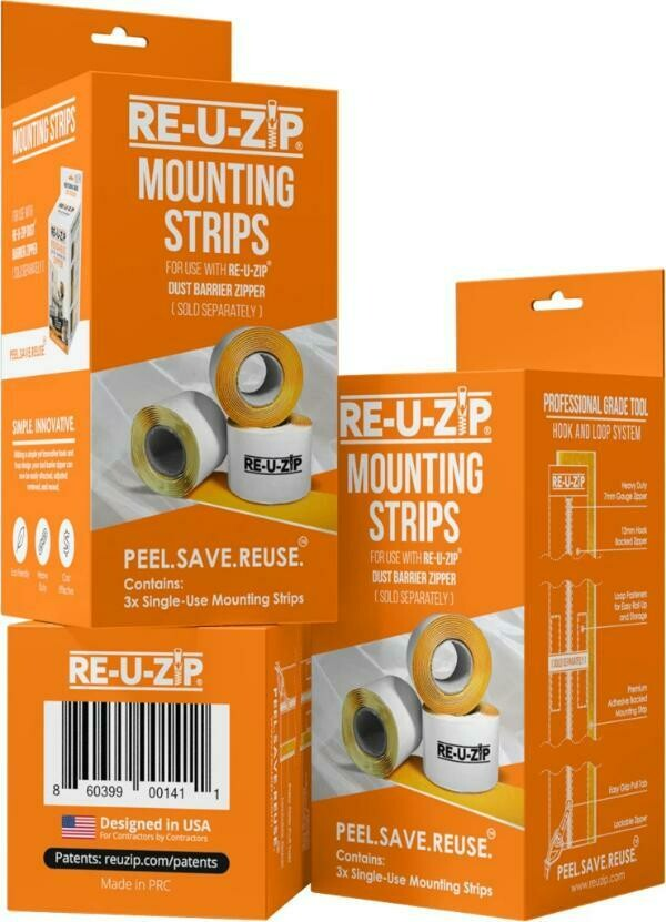 3 Pack- Mounting Strips