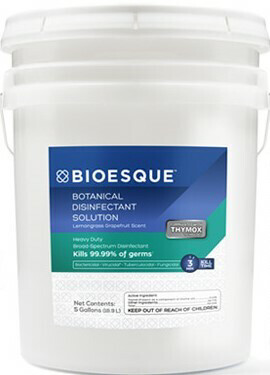 BIOESQUE BOTANICAL DISINFECTANT SOLUTION 5 GALLONS: Effective on Covid-19