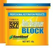 SENTINEL 522 ODOR DESTROYER BLOCK 1lb.