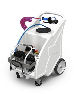 Electric Mist Unit with handheld applicator by Foam It