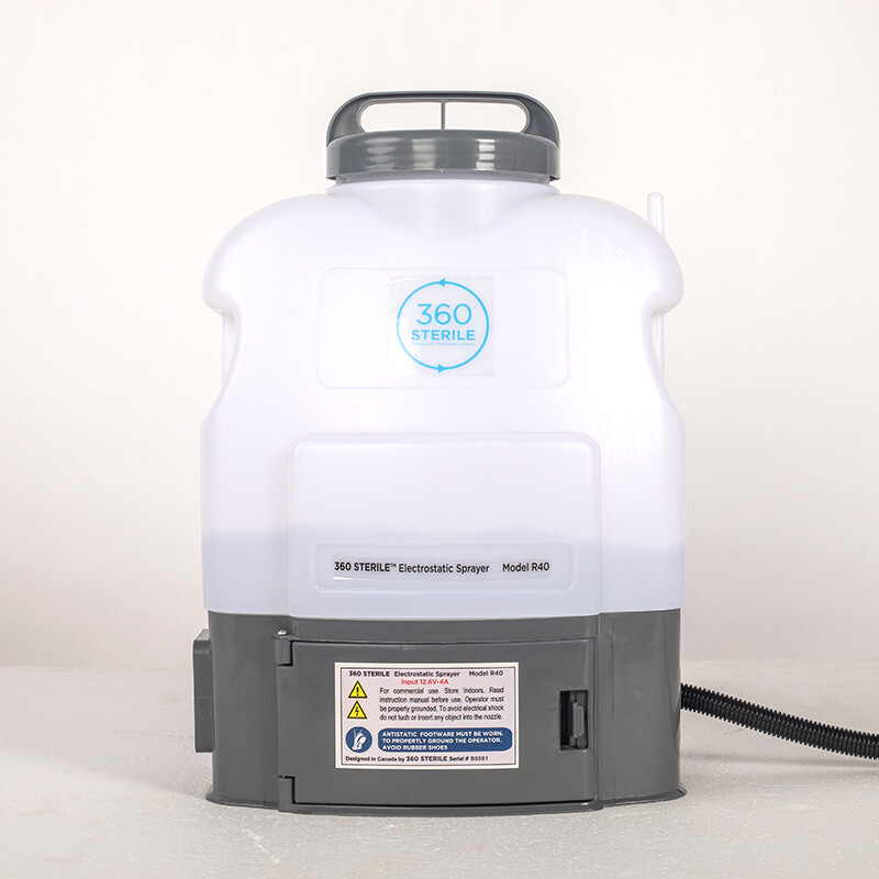 Electrostatic Disinfection Spray System | 360 STERILE® Model R40 (FINANCING AVAILABLE)