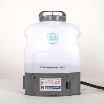 Electrostatic Disinfection Spray System   360 STERILE® Model R40 (FINANCING AVAILABLE)