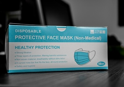 Protective Face Mask (Non-Medical) box of 50