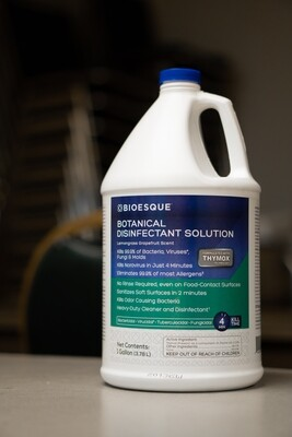 BIOESQUE BOTANICAL DISINFECTANT SOLUTION 1 GALLON