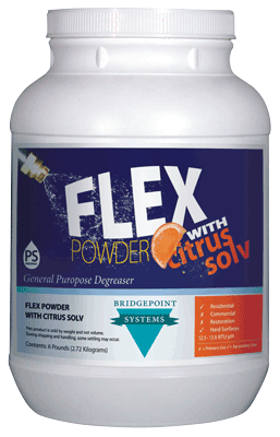 Flex Powder w/Citrus Solv, Gl