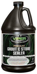 Viper Stone & Grout Sealer, Gl