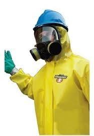 Yellow ChemMAX Suit, Serged & Bound, XL